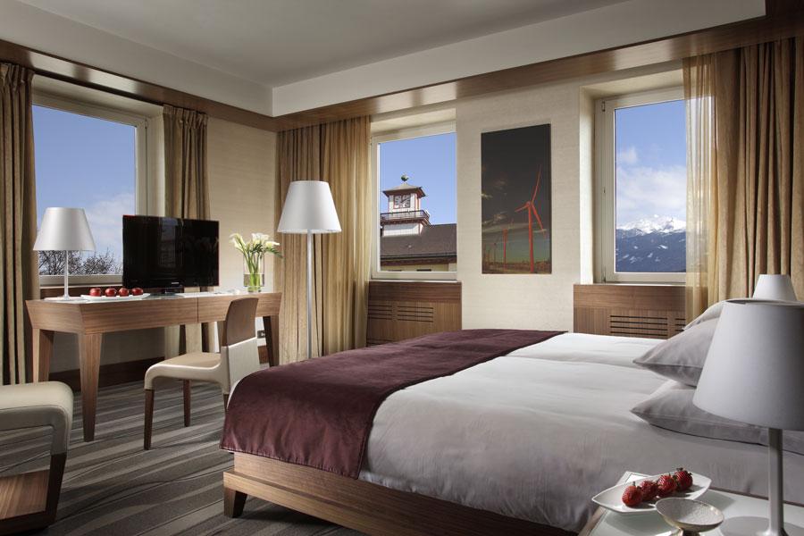 Modern italian design grand hotel innsbruck for Designhotel innsbruck