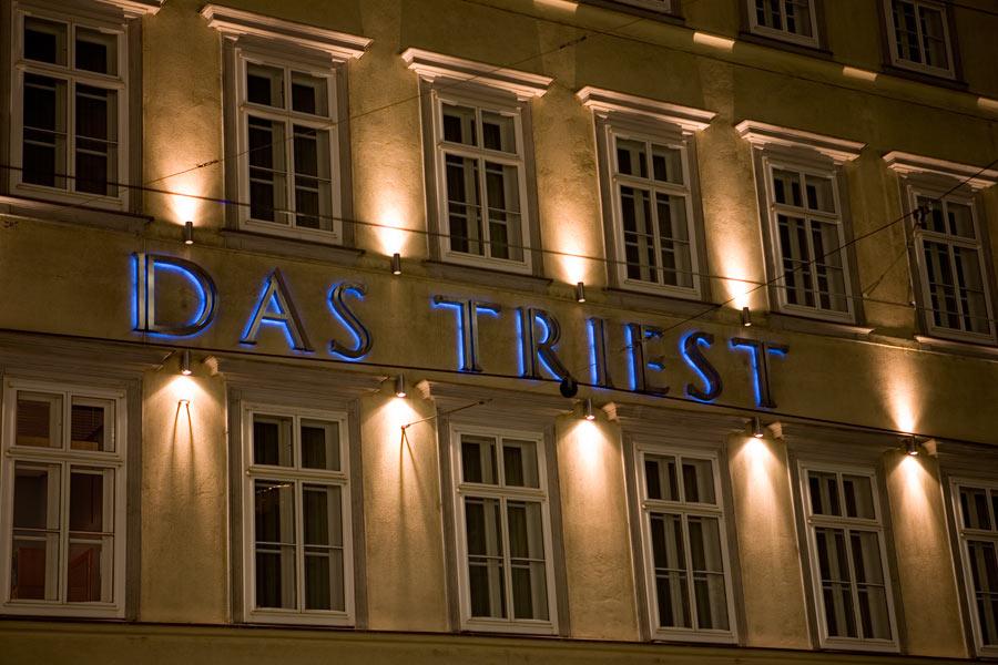 The designhotel das triest in vienne for Design hotel 1070 wien